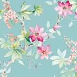 CR20812 Jasper floral wallpaper from the Island collection by Carl Robinson