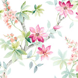 CR20802 Jasper floral wallpaper from the Island collection by Carl Robinson