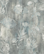 CR76402 Orford brushed floral wallpaper from the Seaglass collection by Carl Robinson