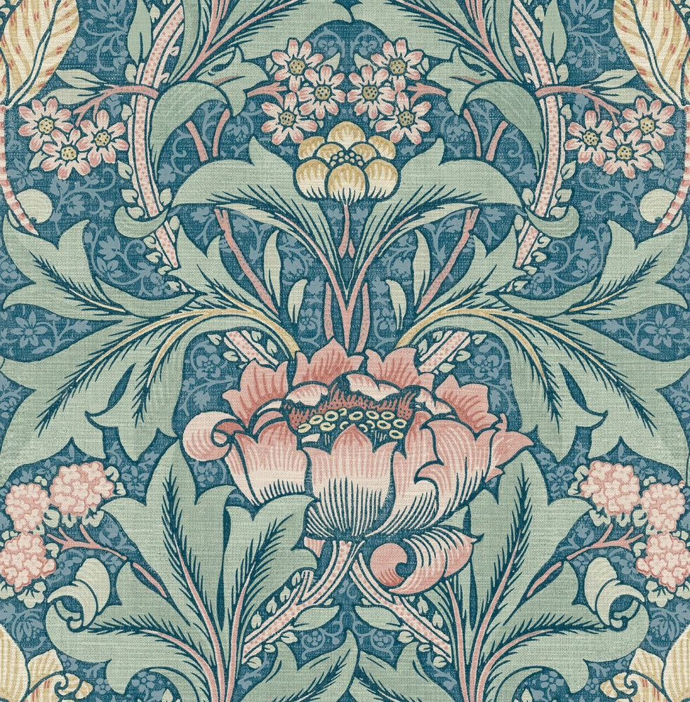 BM60102 Morris flower arts and crafts wallpaper from Say Decor