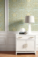 BM60103 Morris flower arts and crafts wallpaper decor from Say Decor
