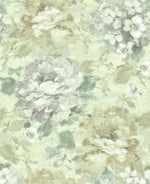 AR30505 brushstroke garden floral wallpaper from the Nouveau collection by Seabrook Designs