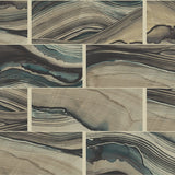 CR61000 abstract marble tile wallpaper from the Milan collection by Carl Robinson