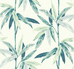 CR21804 janson leaf botanical wallpaper from the Island collection by Carl Robinson