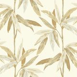 CR21805 janson leaf botanical wallpaper from the Island collection by Carl Robinson