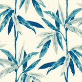 CR21802 janson leaf botanical wallpaper from the Island collection by Carl Robinson