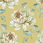 CR21310 Jarrow peony floral wallpaper from the Island collection by Carl Robinson