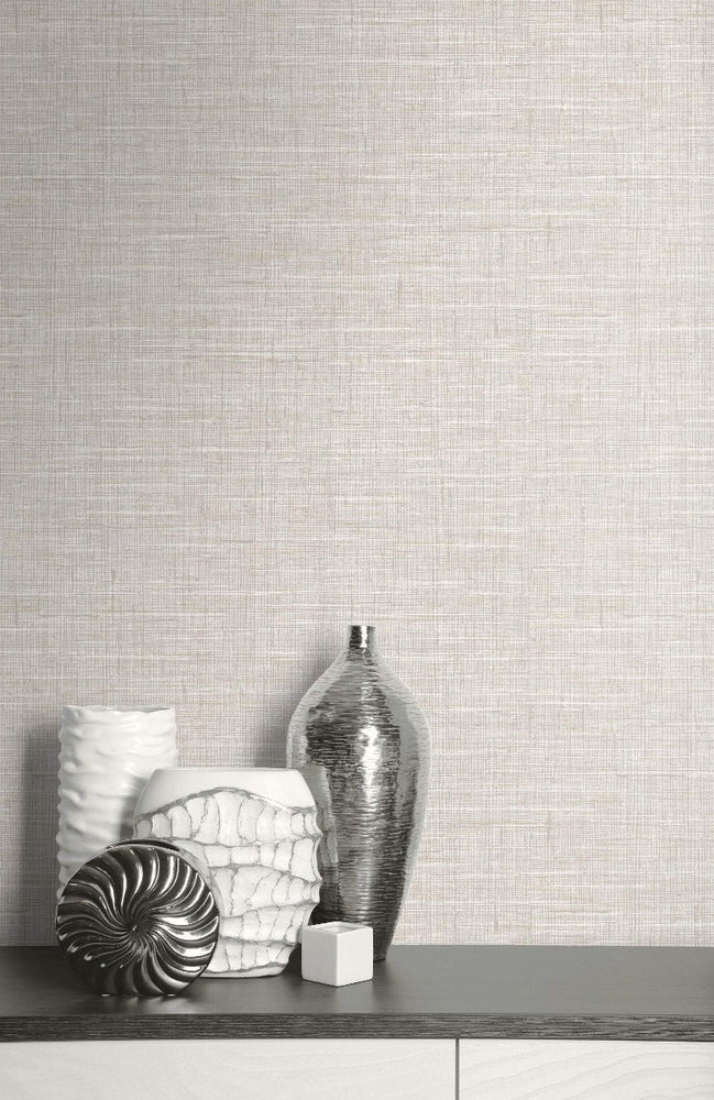 GT20508 marble linen faux wallpaper decor from the Geo collection by Seabrook Designs