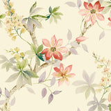 CR20817 Jasper floral wallpaper from the Island collection by Carl Robinson