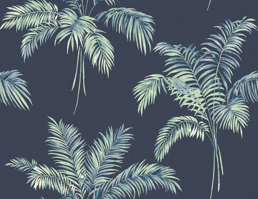 Carl Robinson Edition 10: Island Jacob Palm Tree Wallpaper