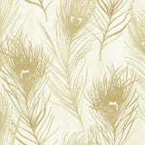 Carl Robinson Edition 10: Island Jersey Peacock Feather Wallpaper