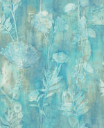 Carl Robinson Edition 15: Seaglass Orford Brushed Floral Wallpaper