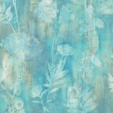 CR76404 Orford brushed floral wallpaper from the Seaglass collection by Carl Robinson