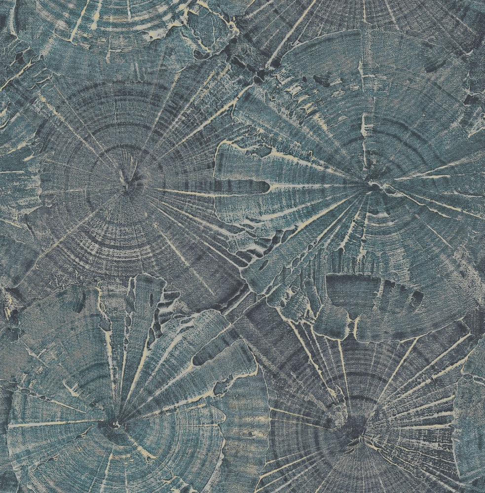 CR76002 opal tree wallpaper from the Sea Glass collection by Carl Robinson