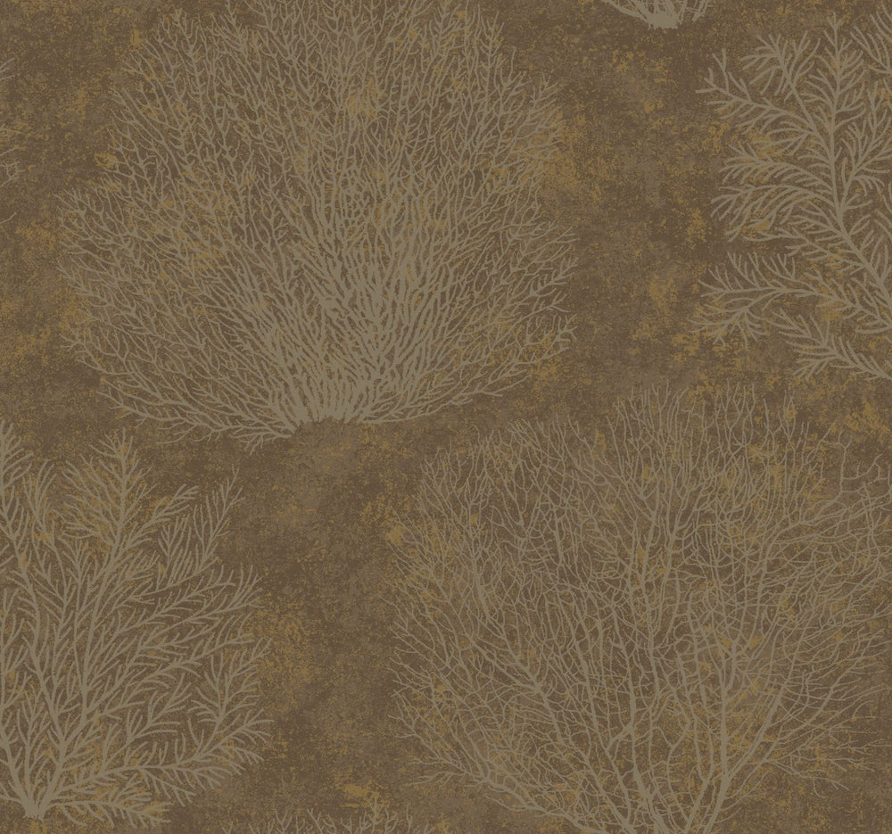 CR75706 Oliver coral wallpaper from the Seaglass collection by Carl Robinson