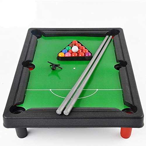 Metal Dragon 77th Fun Portable 33 cm Mini Pool Table Billiard Game Snooker for Kids or Stress Relief Great Gift - BeesActive Australia
