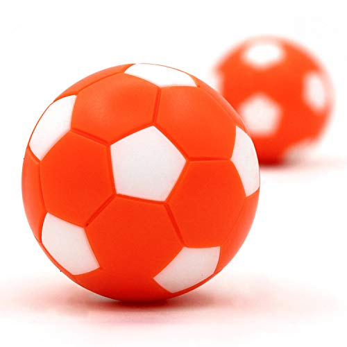 OuMuaMua Foosball Table Balls 1.42 inch Table Soccer Balls for Foosball Tabletop Game Foosball Accessory Replacements Multicolor (9 Pack) - BeesActive Australia