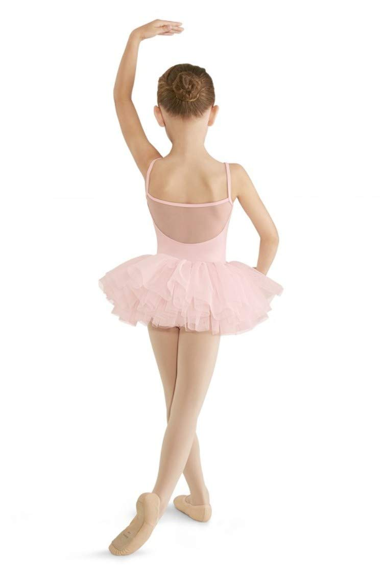 [AUSTRALIA] - Mirella Girls Girl's Cord Mesh Cami Tutu Dress Pink 6X