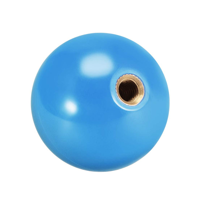 uxcell Joystick Ball Top Handle Rocker Round Head Arcade Fighting Game DIY Parts Replacement Blue - BeesActive Australia