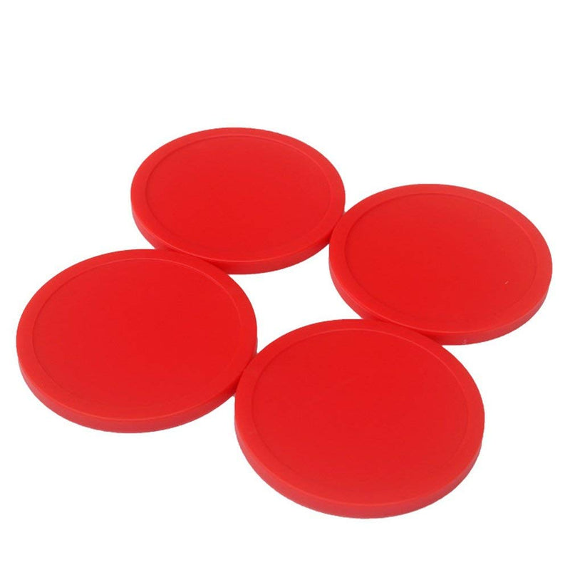 Phinacan 12PCS Air Hockey Pucks Table Replacement Puck for Home (2.5 Inch, Red) - BeesActive Australia