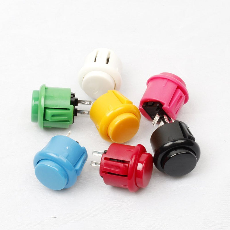 EG Starts 10x 24mm Push Button Replace for Sanwa OBSF-24 Arcade DIY Parts Games Mame Jamme - BeesActive Australia