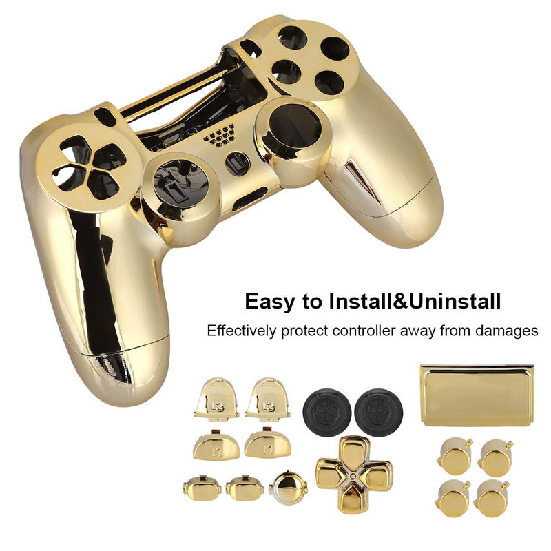 Pomya Housing Shell Cover Comfortable Plastic Game Pad Handle Controller Slim Hard Case Cover for PS4 Game Controller - BeesActive Australia