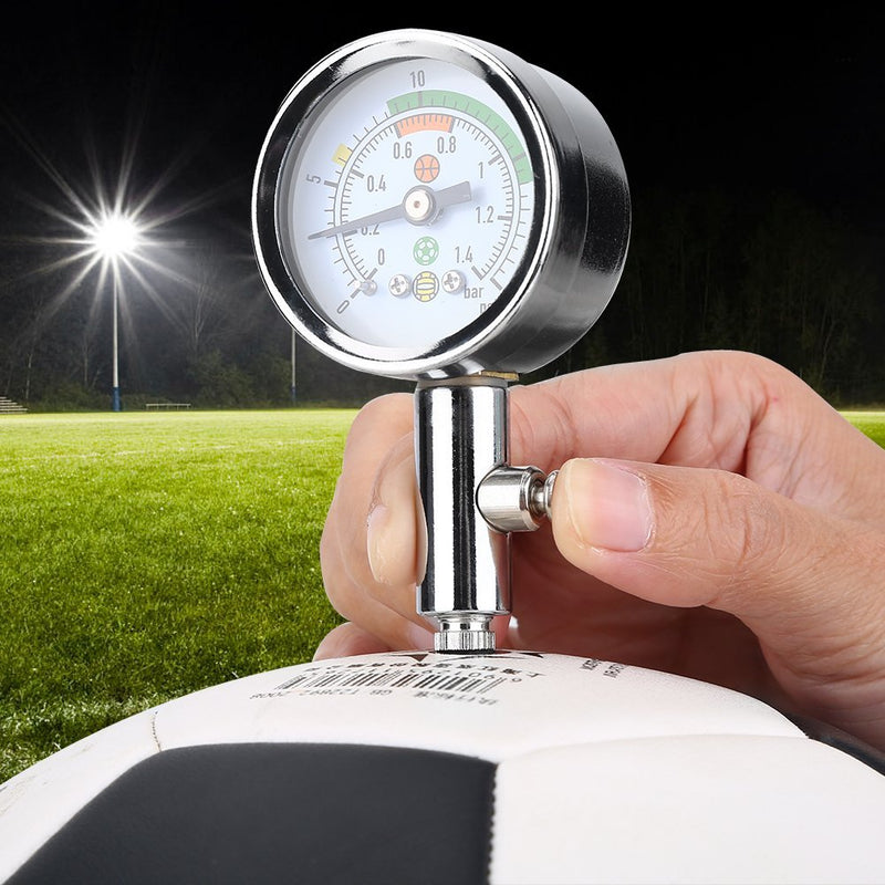 VGEBY Accurate Ball Pressure Gauge,Basketball Air Guage Football Pump Pressure Gauge - BeesActive Australia
