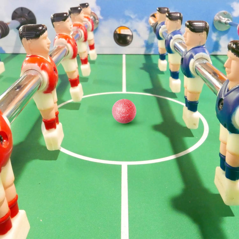 Gejoy 10 Pieces Foosball Balls Tournament Table Soccer Ball Frosted Table Football Balls 36mm Game Table Size - BeesActive Australia