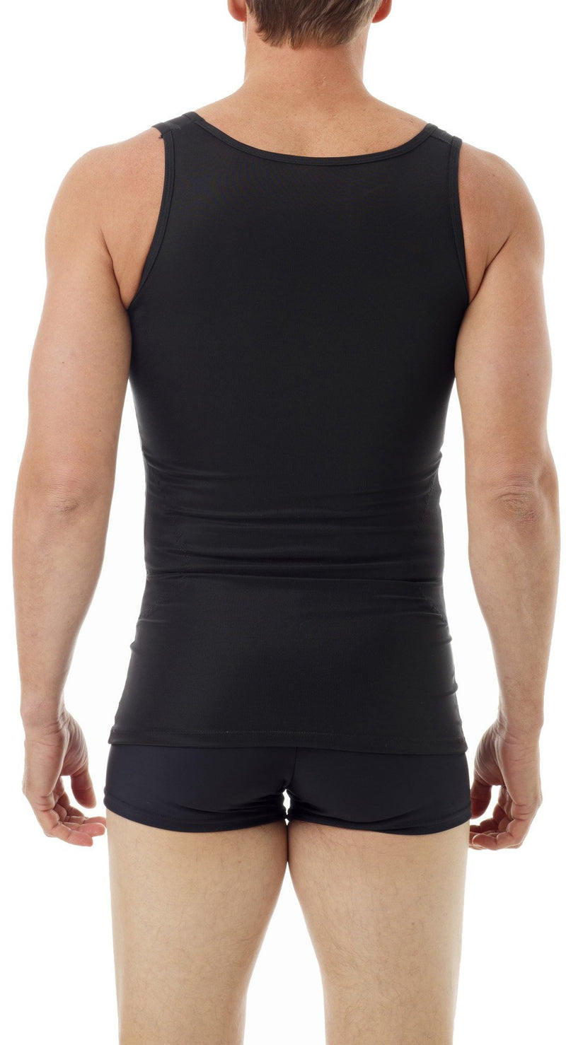 Underworks Mens Original Firm Compression Body Shirt 992 Medium Black - BeesActive Australia