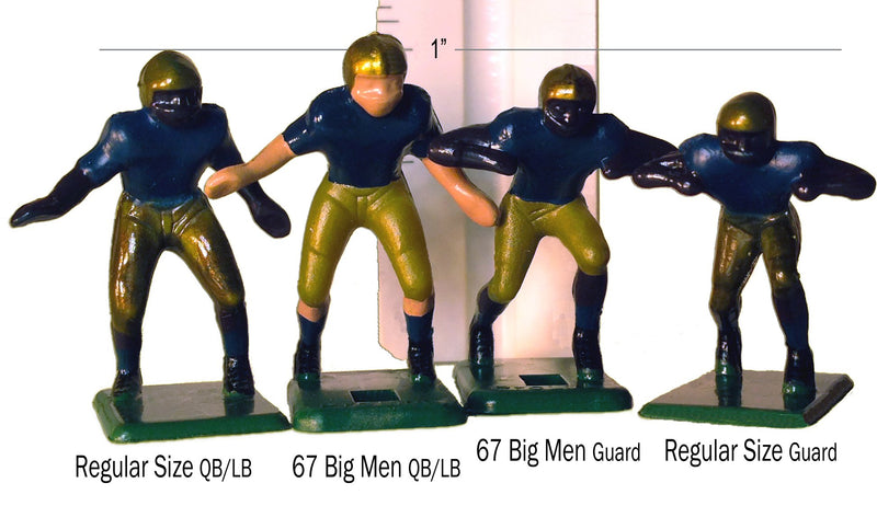 Electric Football 11 Regular Size Men in Blue Pants White Away Uniform - BeesActive Australia