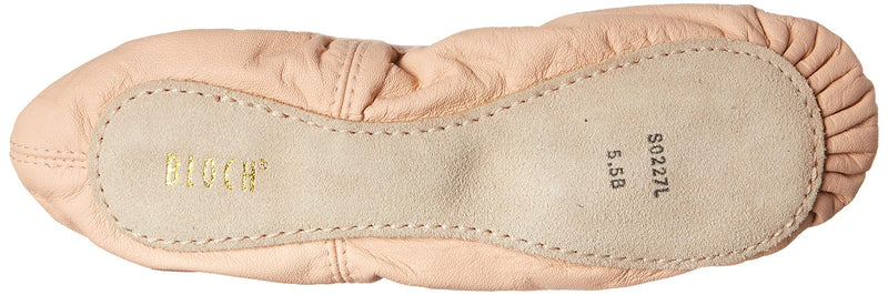 [AUSTRALIA] - Bloch Dance Girl's Belle Full-Sole Leather Ballet Shoe / Slipper Little Kid (4-8 Years) 12 Little Kid Pink