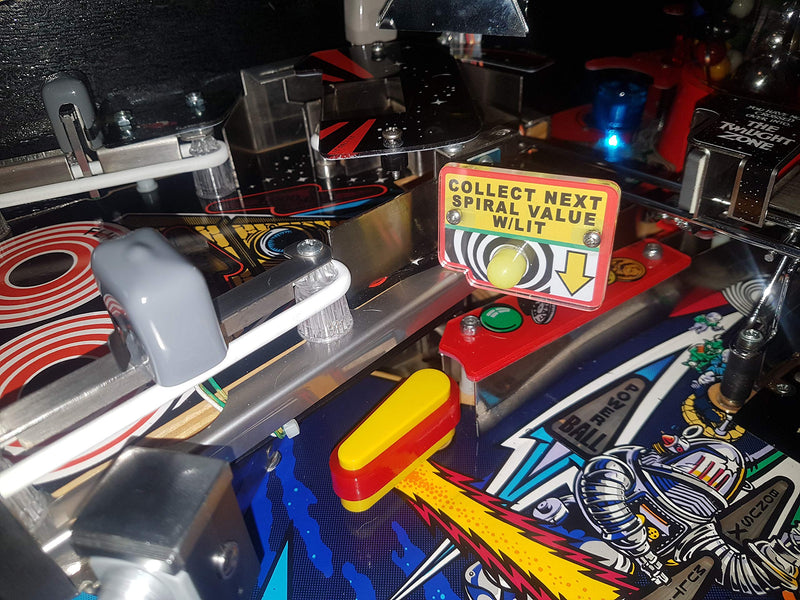 Twilight Zone Pinball Spiral Sign! - BeesActive Australia