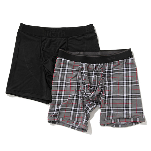 BLK FIRESIDE-PLAID GY