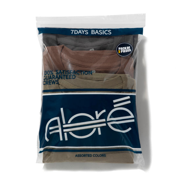 Alore | アローレ 3PIECES PACK TEE
