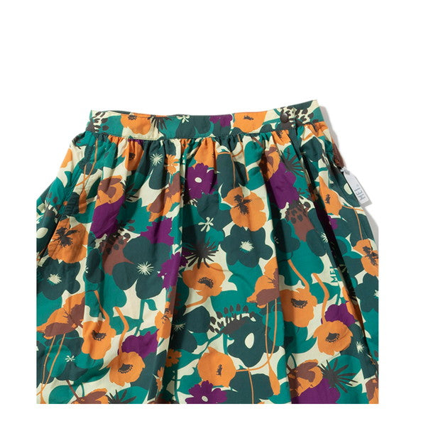 MEI | メイ PATTERNED WRAP SKIRT