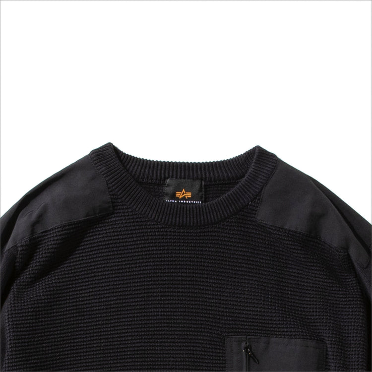 ALPHA INDUSTRIES | アルファ インダストリーズ Begin限定 COMMAND SWEATER MOD