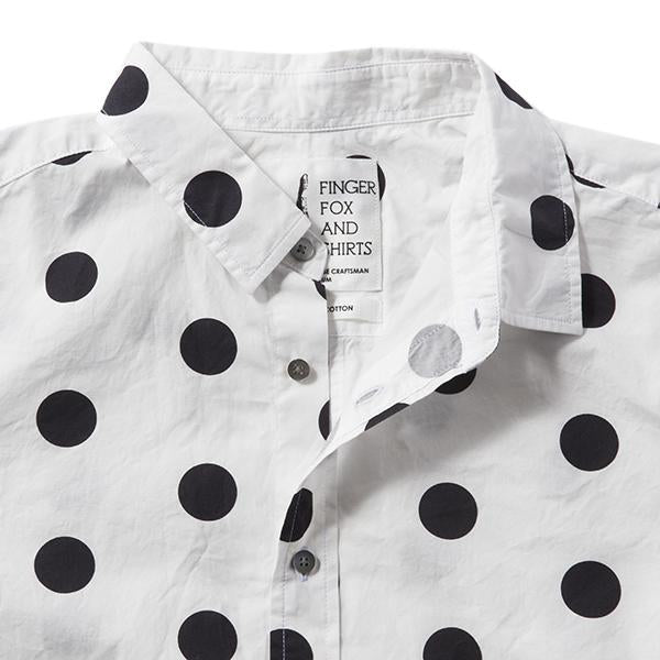 FINGER FOX AND SHIRTS | フィンガーフォックスアンドシャツ 【Thumb】60/-Typewriter 500Dots Shirts