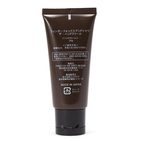 FINGER FOX AND SHIRTS | フィンガーフォックスアンドシャツ THE HAND CREAM(FFS-0043)
