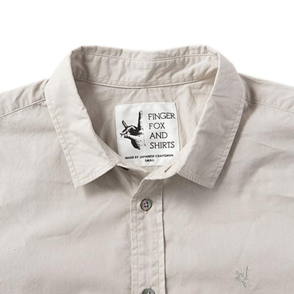 FINGER FOX AND SHIRTS | フィンガーフォックスアンドシャツ 【Thumb】60/-Typewriter Shirts