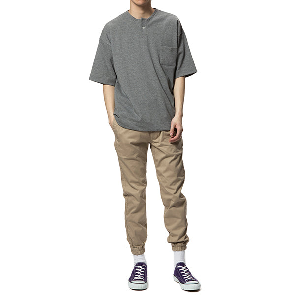 GLACON | グラソン PIQUE BIG NO COLLAR TEE