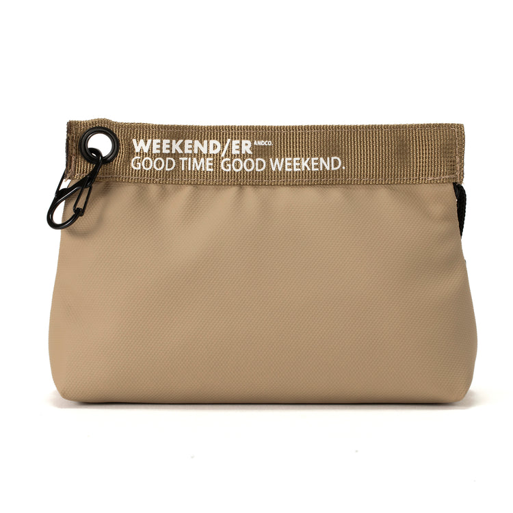WEEKEND(ER)&co | ウィークエンダー MAT COATING SMALL POUCH