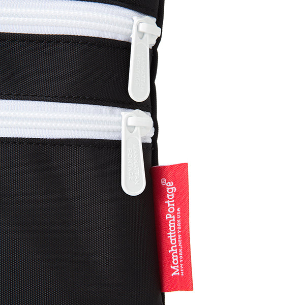 Manhattan Portage | マンハッタン ポーテージ Triple Zipper Pouch