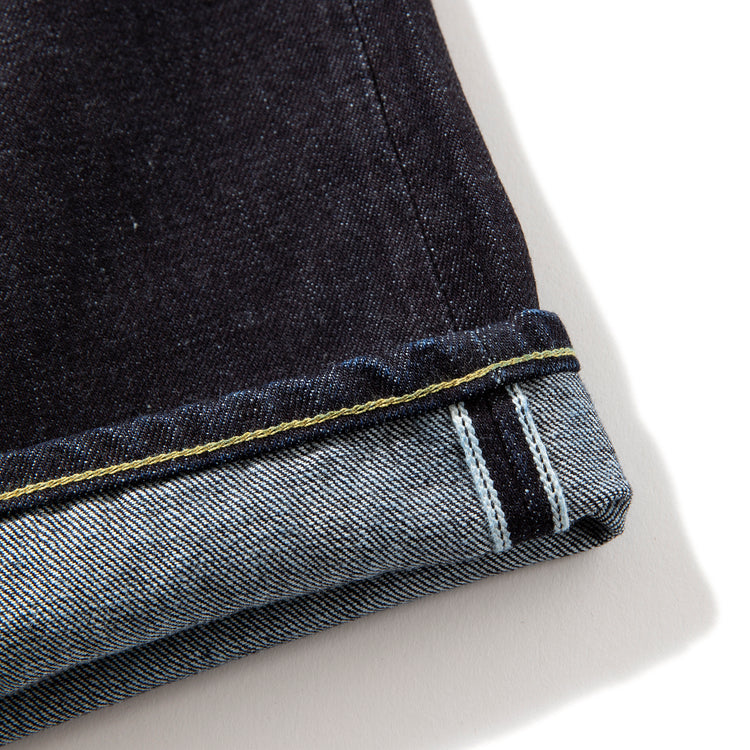 NEGATIVE DENIM | ネガティブ デニム 5p slim tapered jeans