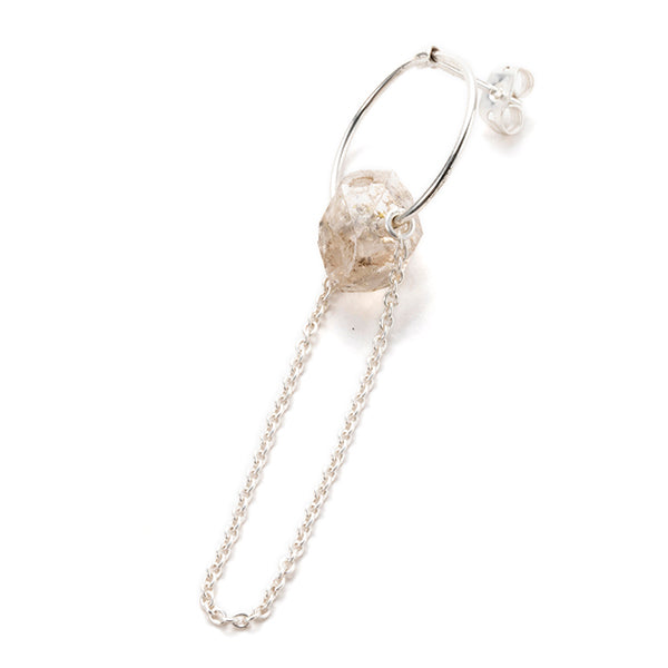 PAISLEY | ペイズリー Kizuki Stone Pierce(Herkimer Diamond)