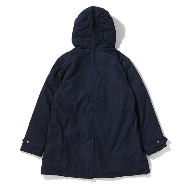 have a good day | ハブアグッドデイ Hooded down coat