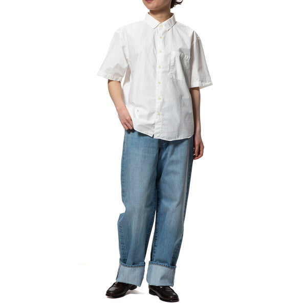 MANUAL ALPHABET | マニュアルアルファベット LOOSE FIT REGULAR COLLAR S/S SHT