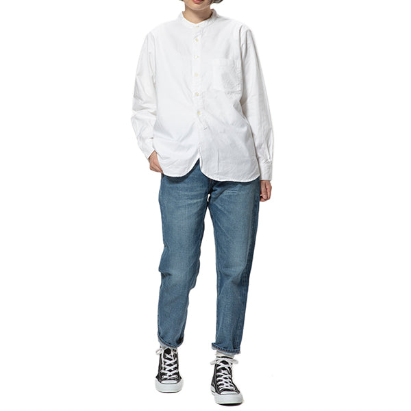 MANUAL ALPHABET | マニュアルアルファベット SUPIMA OX BAND COLOR SHIRT