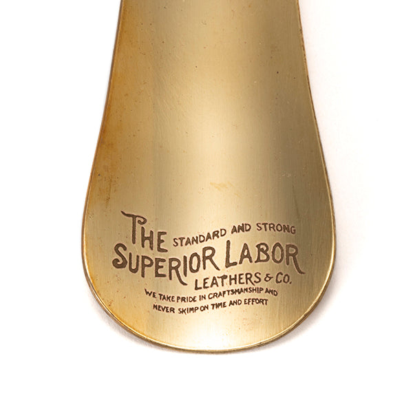 THE SUPERIOR LABOR | ザシュペリオールレイバー brass shoes horn