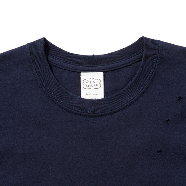 feel so easy good things for relaxing | フィールソーイージーグッドシングスフォーリラクシング hand damege Tee