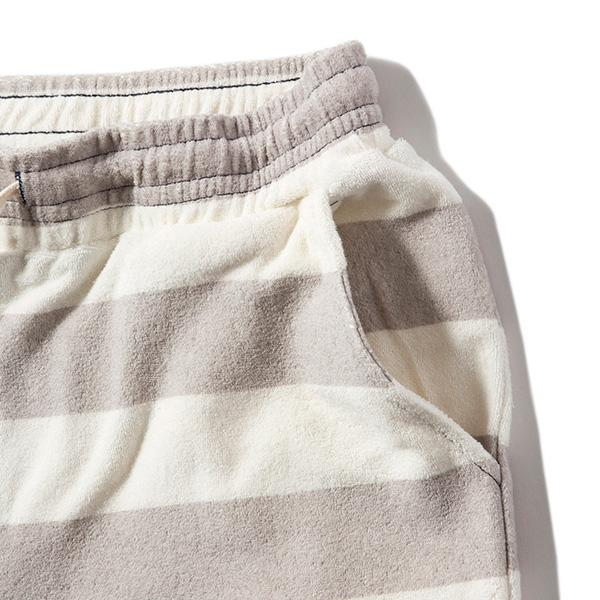 feel so easy good things for relaxing | フィールソーイージーグッドシングスフォーリラクシング organic cotton pile short pants(border)